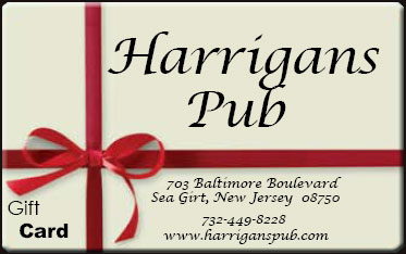Harrigan's Pub ift Card